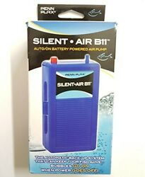 Silent Air B11 Battery Operated Aquarium Air Pump For Power Outage Automatic On $16.00
