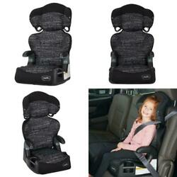 Adjustable Car Seat Toddler Safety Booster Chair For 4 Year Old Static Black $53.99