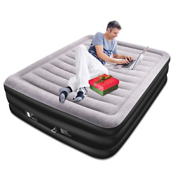 Inflatable Bed with Built in Electric PumpAir Mattress High 20in Queen $56.99