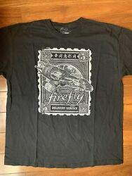 Firefly Delivery Service Mens Black Tee XL Geekfuel Exclusive $16.00