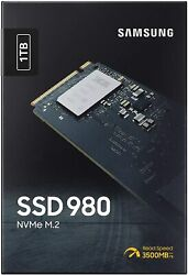 Samsung 980 1TB SSD PCIe 3.0 M.2 NVMe Internal Gaming Solid State Drive 2021 $119.95