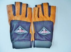 FINGERLESS LEATHER GLOVES MOVERS $19.99