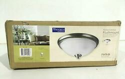 Progress Lighting P3479 09 2 Light Close to Ceiling with Etched Watermark Glass $27.99