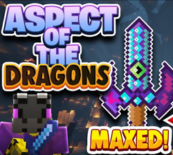 Hypixel Skyblock Maxed out Aspect Of The Dragons AOTD🔥 TRUSTED Fast Delivery