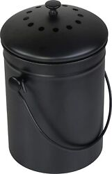 Compost Bin for Kitchen Countertop Gallon Compost Bucket for Kitchen with Lid $35.98