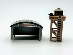 Mini Guard Tower and Airplane Hanger for Dioramas or Train Sets $5.99