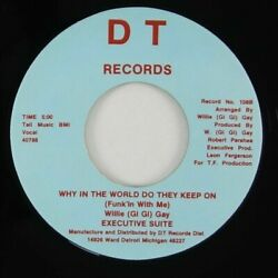 detroit sweet soul disco boogie 7quot; EXECUTIVE SUITE I Must Move On Why ♫ Mp3 DT $89.99