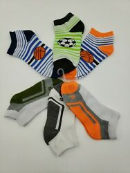 6 Pairs Boys Novelty Low Cut Socks $15.95