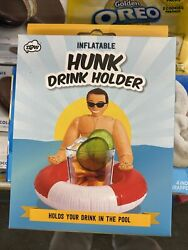 🆕️Inflatable Hunk Drink Holder💯 🏖 🔥🔥GET YOUR FLOATING HUNK TODAY🔥🔥🏖😂😅 $9.99