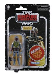 Hasbro Kenner Star Wars Retro Collection Boba Fett 3.75quot; Figure NEW MOC $23.88