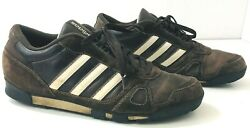 ADIDAS Suede Leather Sneakers Brown Mens 13M $42.46