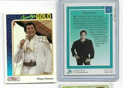 1992 CMA COUNTRY GOLD WAYNE NEWTON #97 TWO EACH