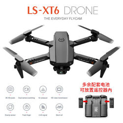 1080P HD Camera RC Quadcopter One Key Take Off Landing Folding Mini Drone Toy $45.76