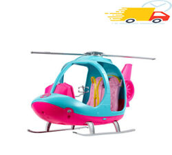 Barbie Estate Travel Pink and Blue Helicopter with Spinning Rotors....... $19.95