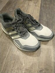 Adidas Ultra Boost Endless Energy Shoes Mens 13 Gray Off White Techfit $49.00
