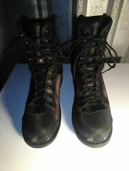 Danner Super Quarry 2.0 GTX Black Leather Work Boots Safety Toe Mens 13 GORE TEX $85.00