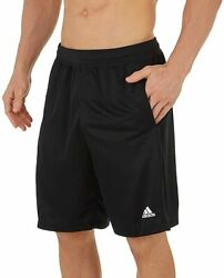 adidas Men#x27;s Clima Tech Shorts Soccer All Sports Athletic w Pockets All Colors $24.99