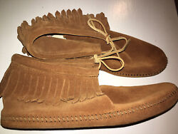 Minnetonka Moccasins With Fringe Size 12 Mens $34.00