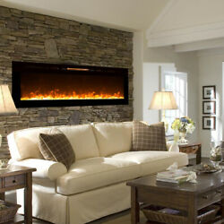 Regal FlameAstoria 60quot; Built In Ventless Heater Recessed Wall Fireplace $899.99