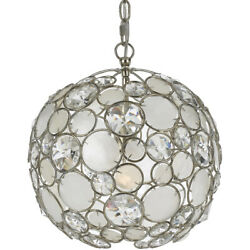 Crystorama 527 SA Palla Mini Chandelier Antique Silver $798.00