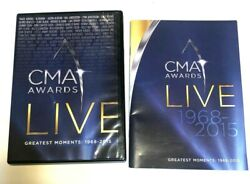 Time Life CMA Awards Live: Greatest Moments 1968 2015 10x DVD Box Johnny Cash