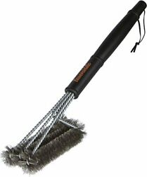 Lawnside BBQ Grill Brush with 3 in 1 Stainless Steel Brush Head Metal Wire Bris $9.97