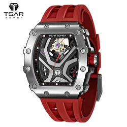 TSAR BOMBA Mens Watches Automatic Stainless Steel 10ATM Waterproof Sports Watch $259.99
