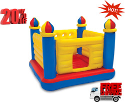 Inflatable Colorful Jump O Lene Kids Ball Pit Castle Bouncer for Ages 3 and up $39.89