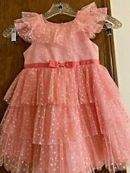 Girls Formal Party Holiday Dress Size 3T Jona Michelle $12.00