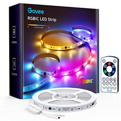 Govee RGBIC LED Strip Lights 16.4FT LED Lights with Remote Controller 11 Scene