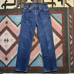 Vintage 90's Levi's For Women 501 High Waisted Jeans Made In USA Fits 27 X 29 $120.00