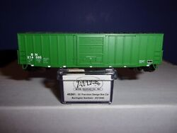 N SCALE ATLAS 45261gt;gt;gt;BN 214595 PRECISION DESIGN 50#x27; RIBBED SIDE BOXCAR $16.90