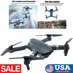 FPV Wifi Drone Quadcopter HD Camera Aircraft Foldable Selfie Toy Trajectory Flip $35.14