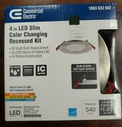 Commercial Electric Ultra Slim New Construction and Remodel Recessed LED Kit