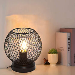 Industrial Vintage Metal Cage Fixture Ceiling Pendant Light home Hanging Lamps $16.29