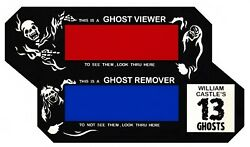 WILLIAM CASTLE quot;GHOST VIEWERquot; FOR 13 GHOSTS AND OTHERS ILLUSION O VIEWER $9.95