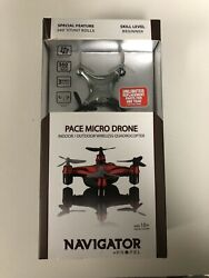 Navigator by Propel Pace Micro Drone New Sealed $14.95