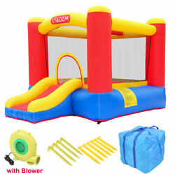 Inflatable Bounce House Large Activity Room Kids Slide Jump Castle with Blower $138.59