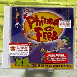 Phineas amp; Ferb Audio CD Standard Jewel Case New Sealed $39.99