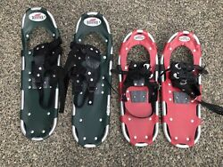 """Redfeather snow shoes 25"""" and 22"""" lot of 2 $59.95"""