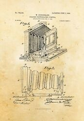 9676.Decoration Poster.Home vintage Room wall art.Patent antique folding camera $32.00