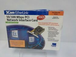 3Com EtherLink Model 3CR990 TX 97 10 100 Mbps PCI Network Interface Card $9.99