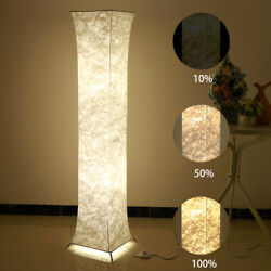 Modern Dimmable Floor Lamps Living Room Standing LED Fabric Light with 2 Bulbs $38.99