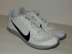 Nike Zoom Rival Waffle Cross Country Men#x27;s Track Shoes AJ0852 100 Size 8.5 White $48.97