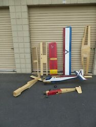 HUGE LOT of RC Planes Wings Remote Control PARTS $199.99