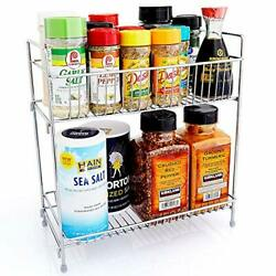 Spice Rack Organizer for Countertop Kitchen Spice Rack for Large or Small $21.49