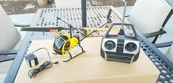 Rare FLY DRAGONFLY 2005 R C Helicopter with REMOTE CONTROL amp; Charger adapter $120.00