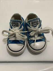 Converse All Star Toddler Size 4C Blue $10.75