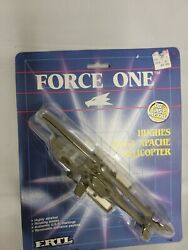 ERTL Ah 64 Apache Helicopter Force One Hughes $13.96