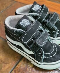 Vans toddlers Shoes High Top OFF THE WALL Kids size 5 $19.99